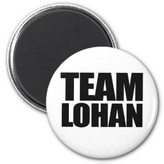 Team Lohan 2 Inch Round Magnet