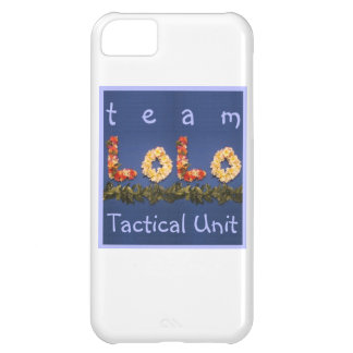 Team Lolo Tactical Unit iPhone 5C Cover