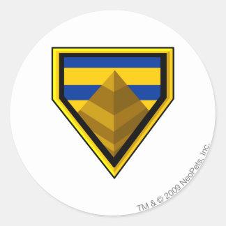 Team Lost Desert Logo Classic Round Sticker