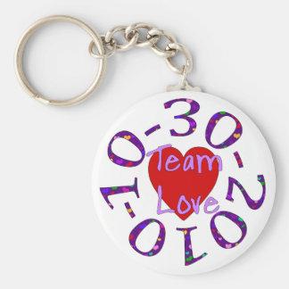 Team Love Keychain