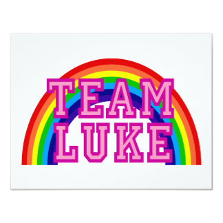 Team Luke Card