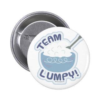Team Lumpy Mashed Potatoes Pinback Button
