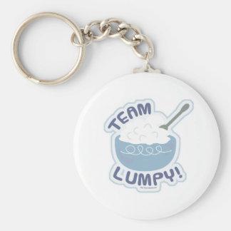 Team Lumpy Potatoes Basic Round Button Keychain