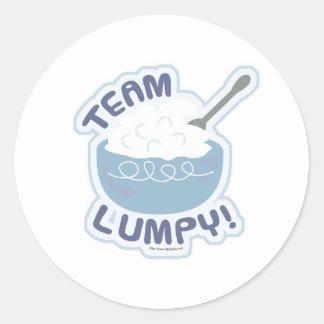 Team Lumpy Potatoes Classic Round Sticker