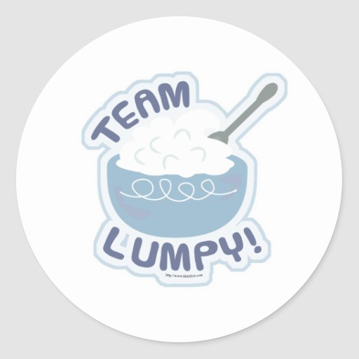 Team Lumpy Potatoes Stickers