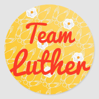 Team Luther Stickers
