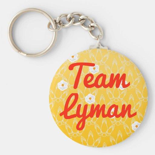 Team Lyman Keychain