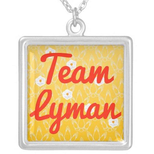 Team Lyman Custom Jewelry