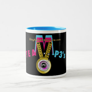 TEAm M-P3's Two-Tone Coffee Mug