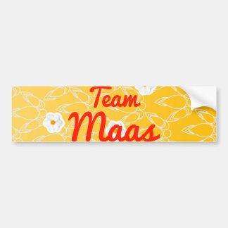 Team Maas Bumper Stickers