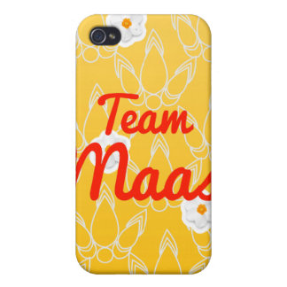 Team Maas iPhone 4 Cases