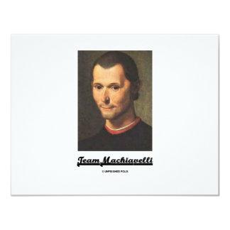 Team Machiavelli Card