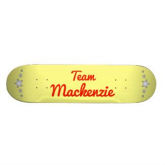 Team Mackenzie Skate Board