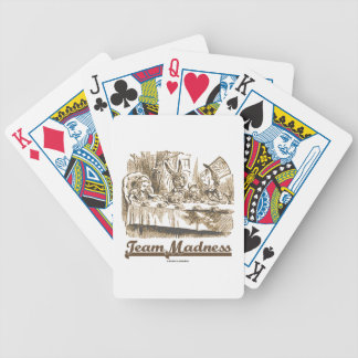 Team Madness (Mad Tea Party Wonderland) Bicycle Playing Cards