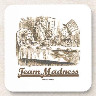 Team Madness (Wonderland Mad Tea Party) Coasters