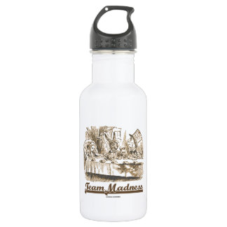 Team Madness (Wonderland Mad Tea Party) Stainless Steel Water Bottle
