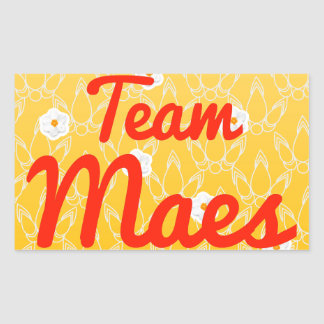 Team Maes Stickers