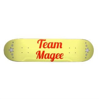 Team Magee Custom Skate Board