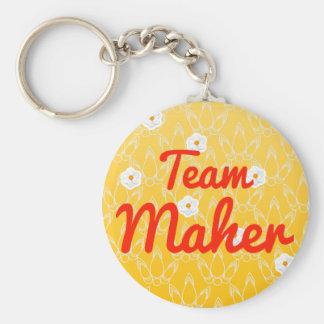 Team Maher Keychain