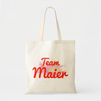 Team Maier Canvas Bag