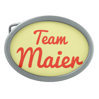 Team Maier Belt Buckle