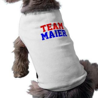 Team Maier Dog T Shirt