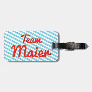 Team Maier Luggage Tag