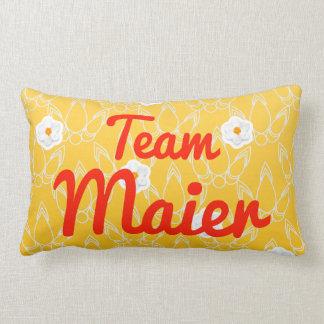 Team Maier Throw Pillow