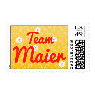 Team Maier Postage Stamps