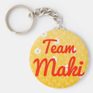 Team Maki Keychains