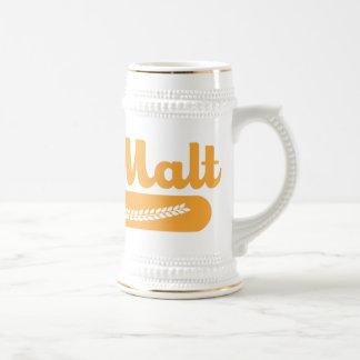 Team Malt Beer Stein Coffee Mug