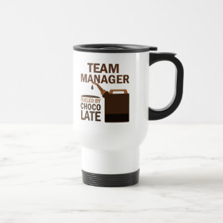 Team Manager (Funny) Chocolate 15 Oz Stainless Steel Travel Mug
