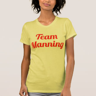 Team Manning Tee Shirt