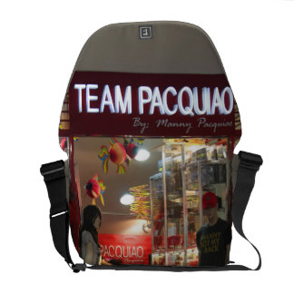 Team Manny Pacquiao Rickshaw Messenger Bag