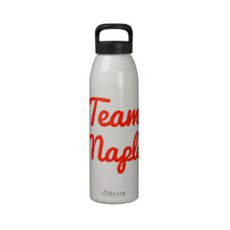Team Maple Water Bottles