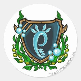 Team Maraqua Logo Classic Round Sticker