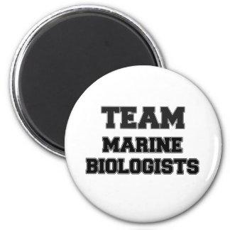 Team Marine Biologists Refrigerator Magnet