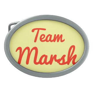 Team Marsh Oval Belt Buckle