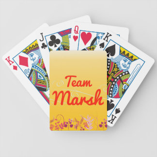 Team Marsh Bicycle Playing Cards