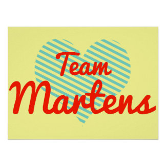 Team Martens Posters