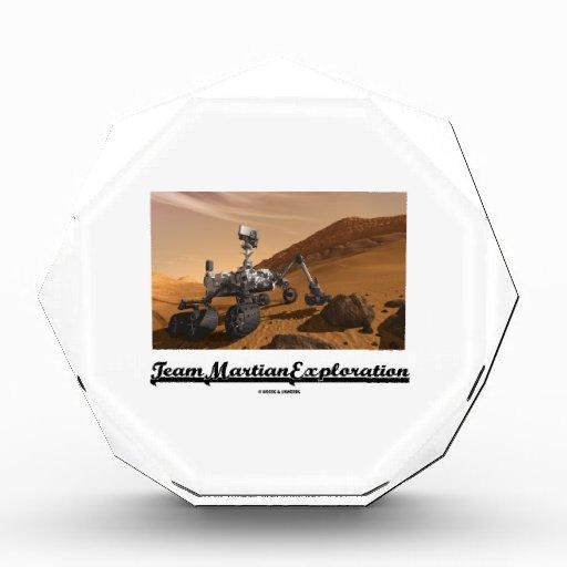 Team Martian Exploration (Curiosity Rover On Mars) Awards