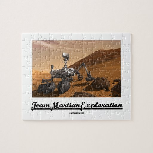 Team Martian Exploration (Curiosity Rover On Mars) Puzzles