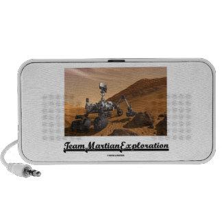 Team Martian Exploration Curiosity Rover On Mars iPhone Speakers