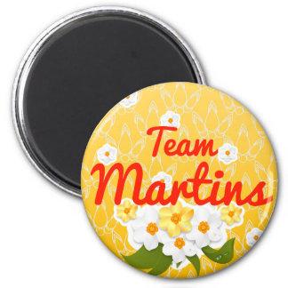 Team Martins Fridge Magnets
