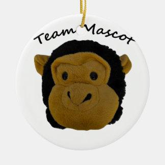 Team Mascot Ceramic Ornament