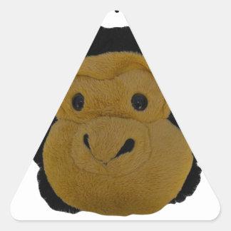 Team Mascot Triangle Sticker