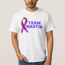 TEAM MASTIN Pancreatic Cancer T-Shirts