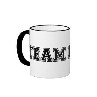 Team Math Ringer Mug