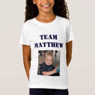 Team Matthew - Little Girl T-Shirt