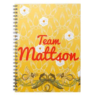 Team Mattson Spiral Notebook